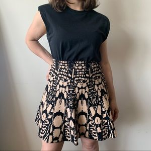 Knitted A Line Skirt